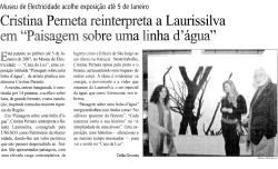 Cristina Perneta reinterpreta a Laurissilva em Paisagem sobre uma linha d´água | Jornal da Madeira
