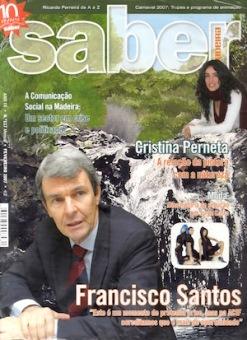 Cristina Perneta, a relação da pintora com a natureza | Revista Saber Madeira, Fevereiro 2007