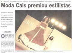 Moda Cais premiou estilistas | Jornal da Madeira, 30 junho 2003
