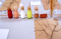 Cores da terra - Atelier Sente a Natureza - Cristina Perneta