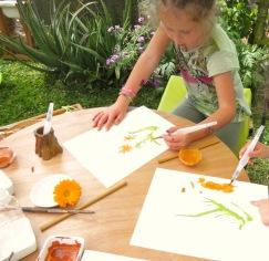 Pintura de observação - Atelier Sente a Natureza - Cristina Perneta