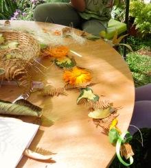 Coroa de flores - Atelier Sente a Natureza - Cristina Perneta