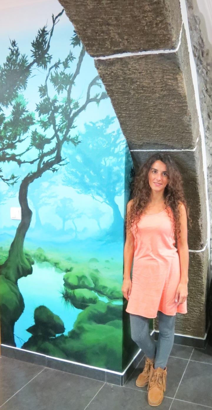 Cristina Perneta Mural Fanal Madeira