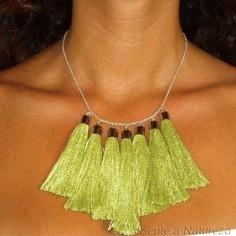 Cotton Necklace - sold